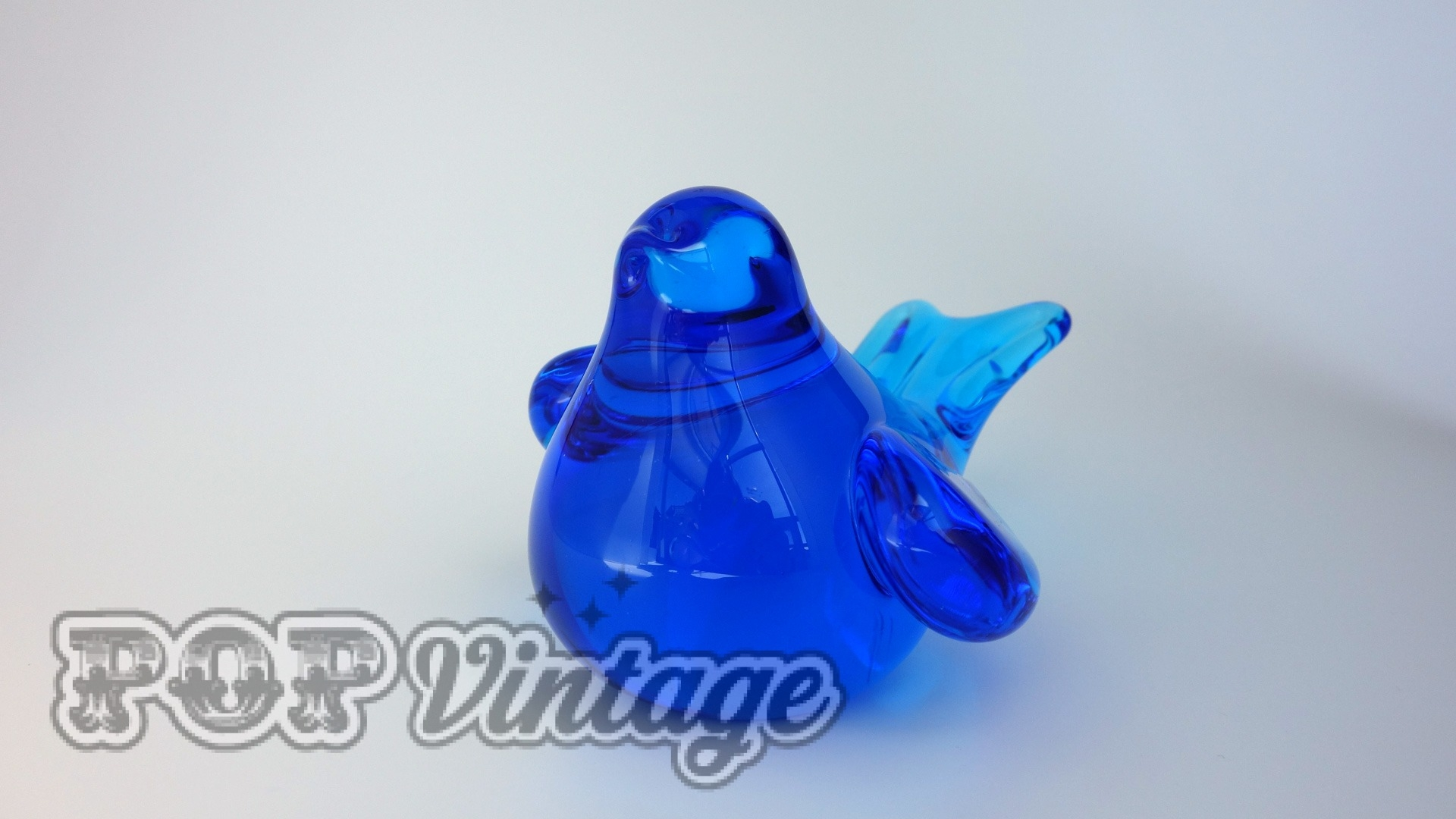 Glass Bluebird of Happiness