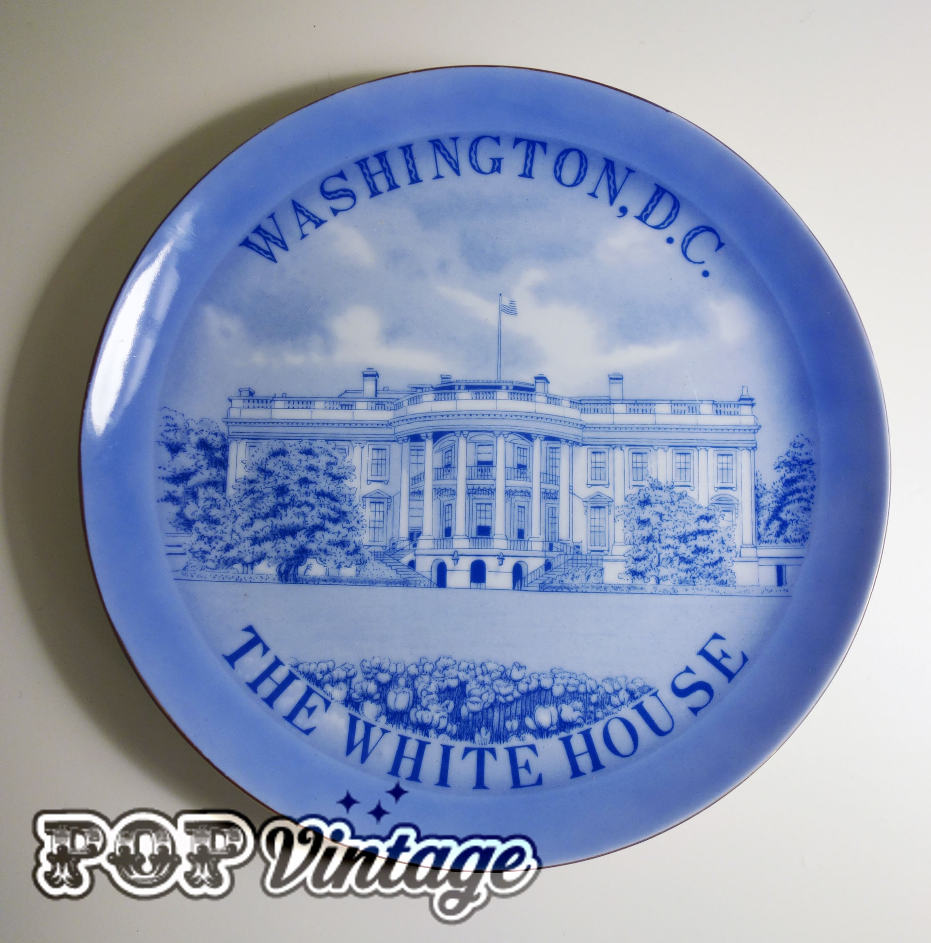 White House Commemorative Plate