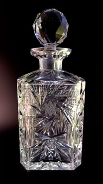 Stunning Vintage Crystal Decanter