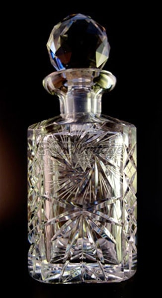 Stunning Vintage Crystal Decanter